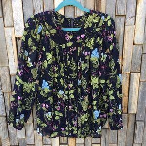 Woman's Ann Taylor shirt top blouse size medium